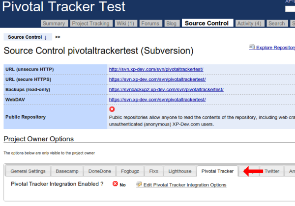 Edit Pivotal Tracker